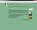 Screenshot Webseite Grundschule am Buschgraben
